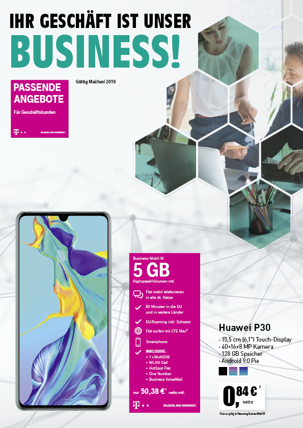Business Mobil Huawei P30